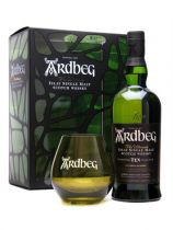 Ardbeg 10 Year with glasses